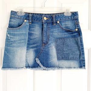 Tory Burch Denim Mini Skirt Sz. 27